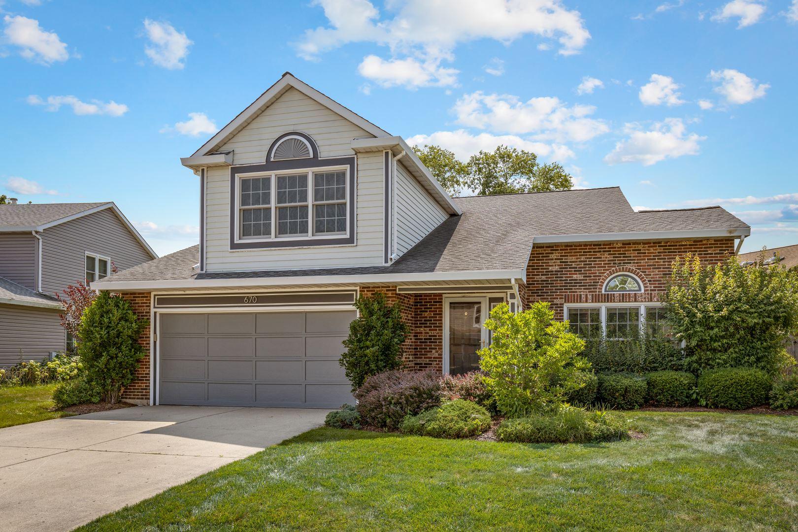 670 YARDLEY Lane, Hoffman Estates, IL 60169 - #: 11172138