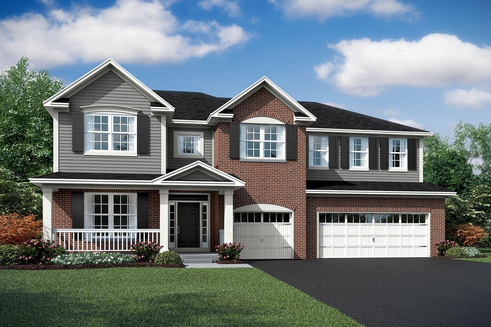 Photo of 26235 W Milestone Lot#12 Drive, Plainfield, IL 60585 (MLS # 10917155)