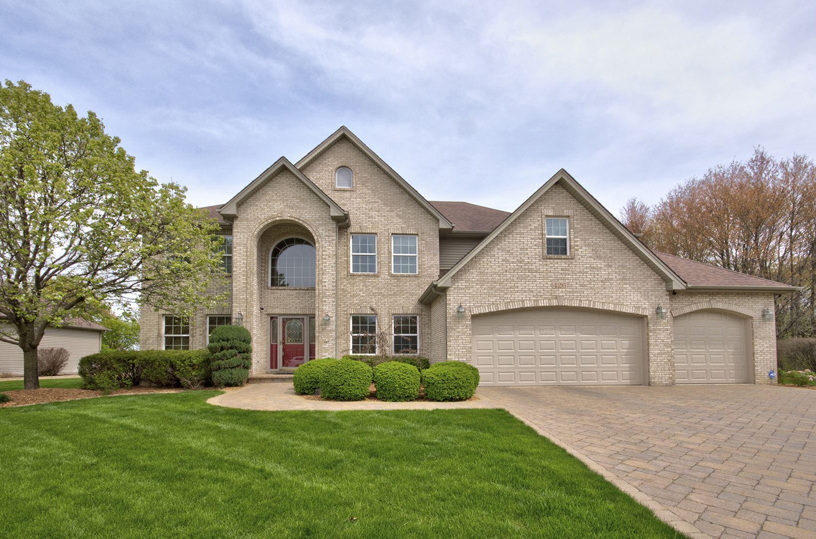 Photo of 426 Heatherwood Drive, Oswego, IL 60543 (MLS # 11066155)
