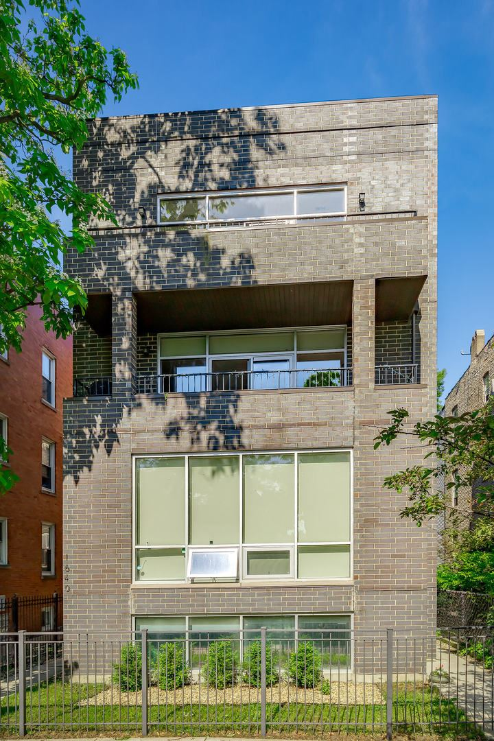 1640 N Rockwell Street #3, Chicago, IL 60647 - #: 10750160