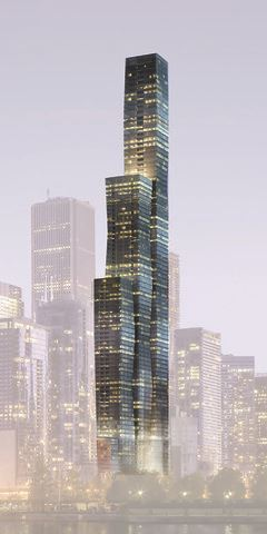 Photo of 363 East Wacker Drive #8701, Chicago, IL 60601 (MLS # 09205163)