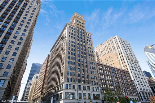 Photo of 6 N Michigan Avenue #1601, Chicago, IL 60602 (MLS # 11093176)