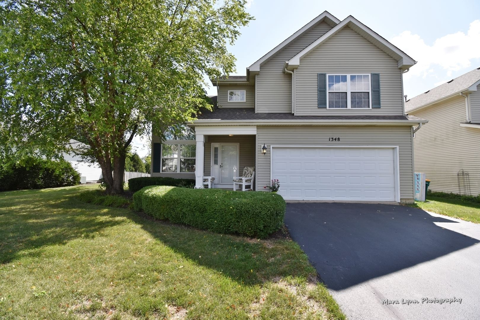 1348 Oakland Circle, North Aurora, IL 60542 - #: 10807187