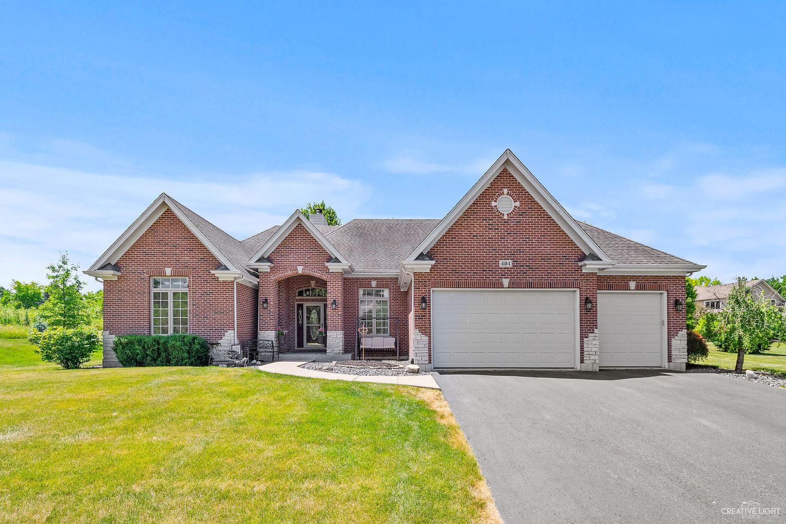 404 Meadowrose Lane, Yorkville, IL 60560 - #: 10758197