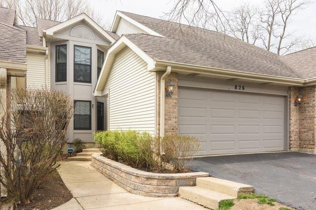 826 N Auburn Woods Drive, Palatine, IL 60067 - #: 10698219