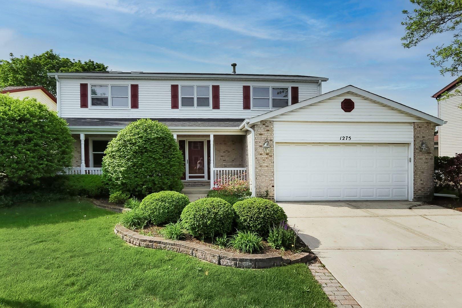 1275 W DOVINGTON Drive, Hoffman Estates, IL 60169 - #: 11120222