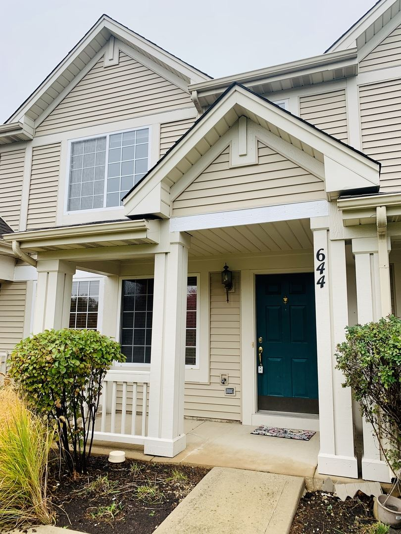 Photo of 644 Lincoln Station Drive #644, Oswego, IL 60543 (MLS # 11075223)