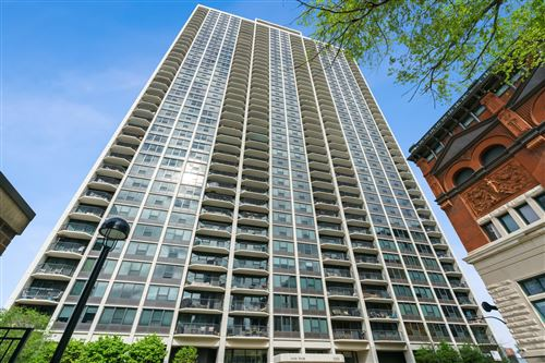 Photo of 1560 N SANDBURG Terrace #1910J, Chicago, IL 60610 (MLS # 11012225)