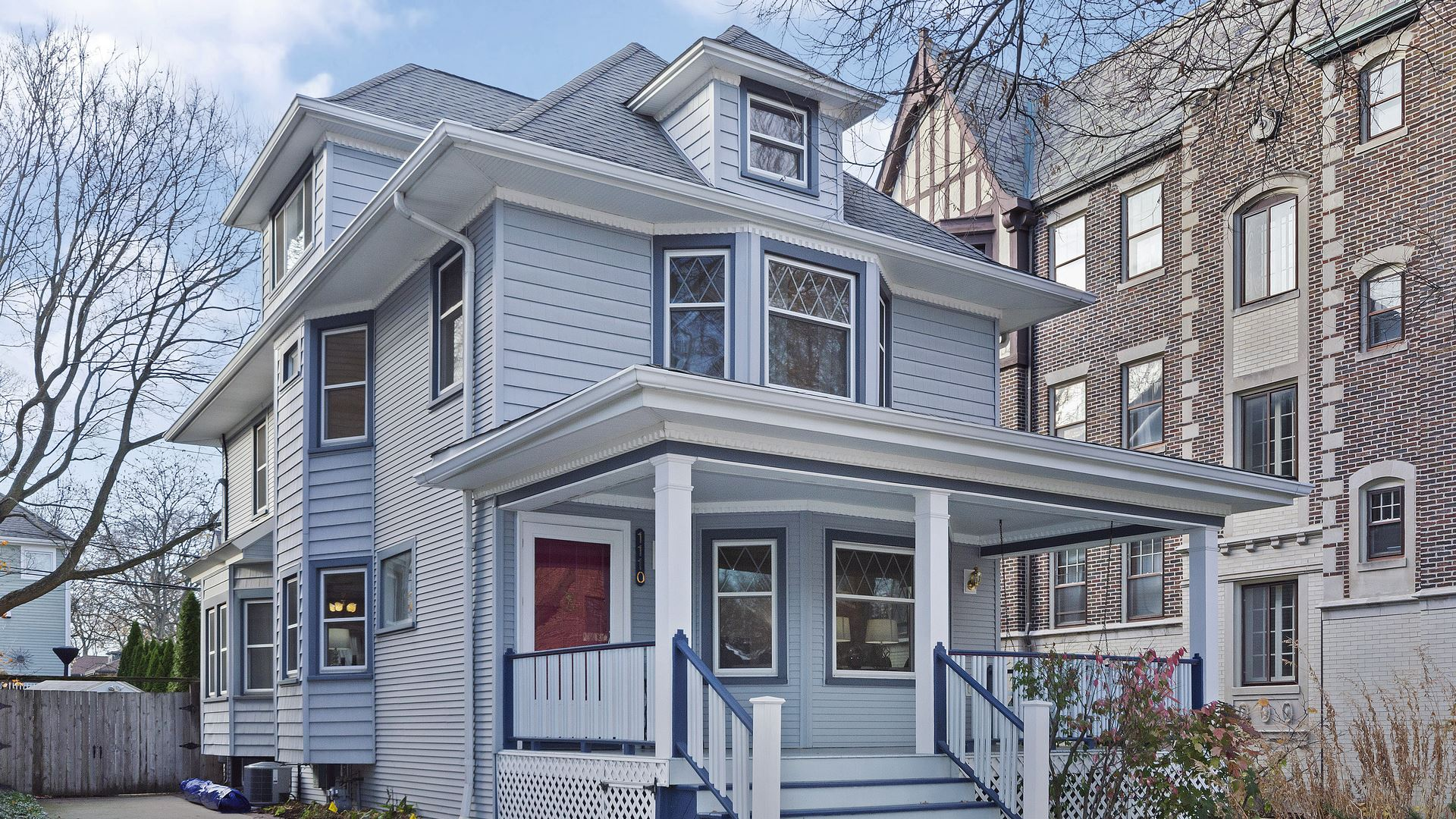 Photo for 1110 Maple Avenue, Evanston, IL 60202 (MLS # 10936237)