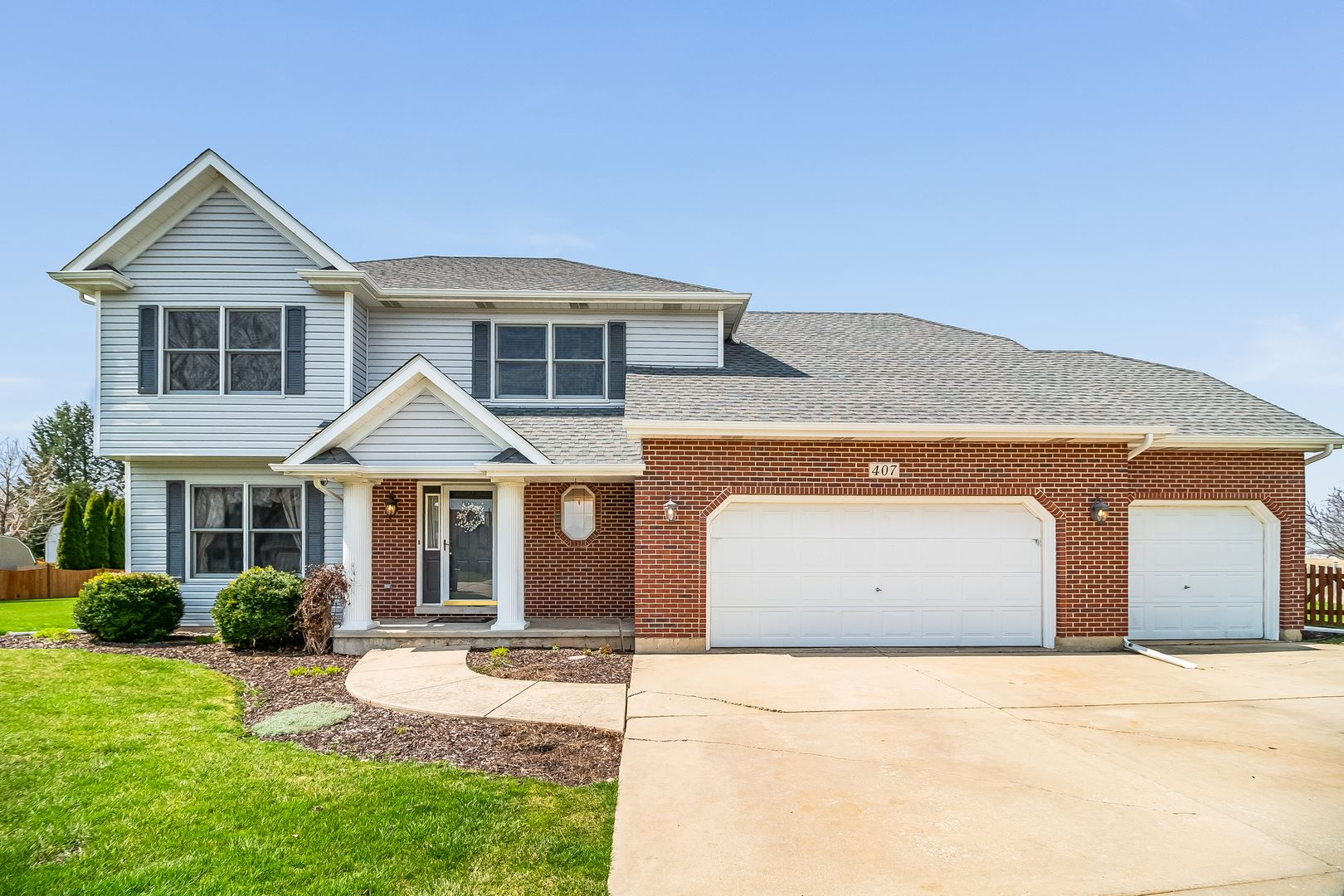 407 Dover Court N, Yorkville, IL 60560 - #: 10682245