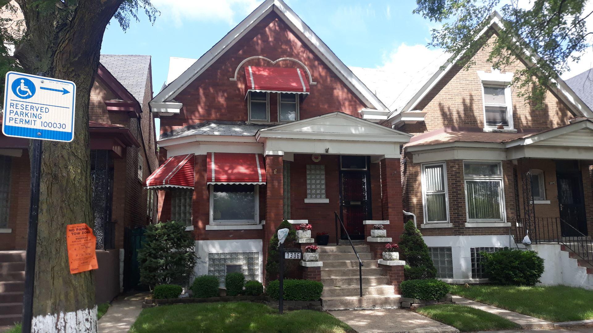 7306 S Lafayette Avenue, Chicago, IL 60621 - #: 10747247