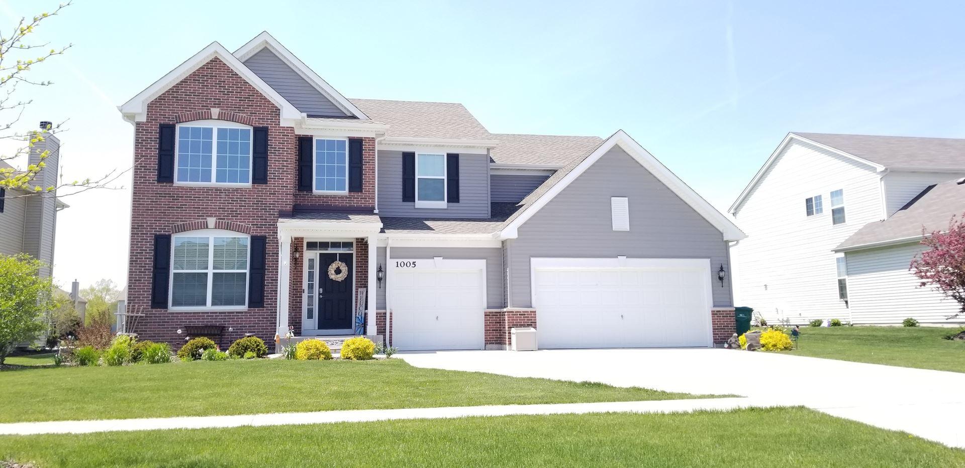 1005 TRILLIUM Lane, Shorewood, IL 60404 - #: 10715252