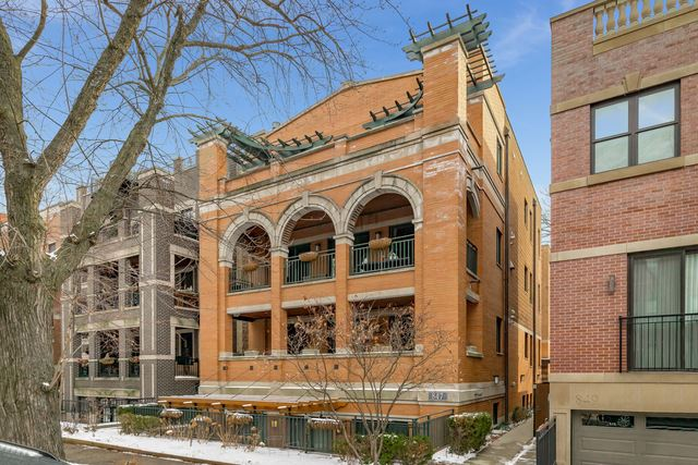 847 W Bradley Place #3F, Chicago, IL 60613 - #: 10634268