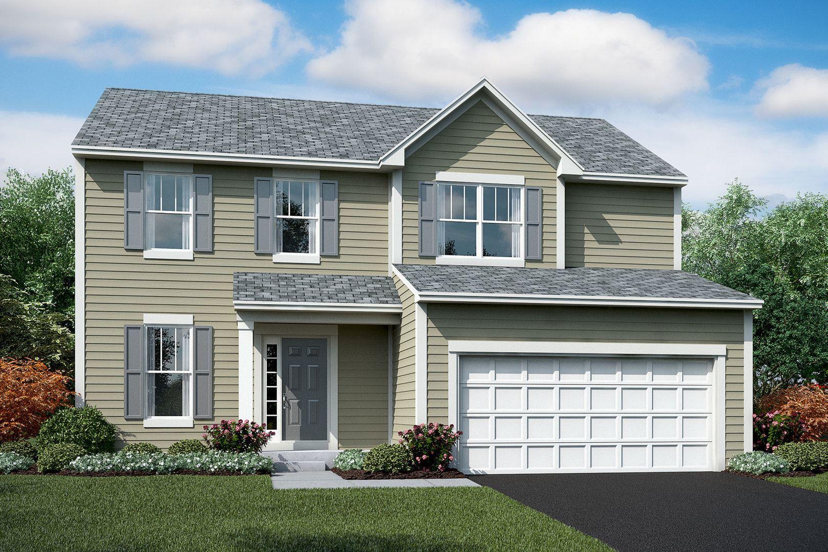 26143 S White Oak  Lot#550 Trail, Channahon, IL 60410 - #: 10737272
