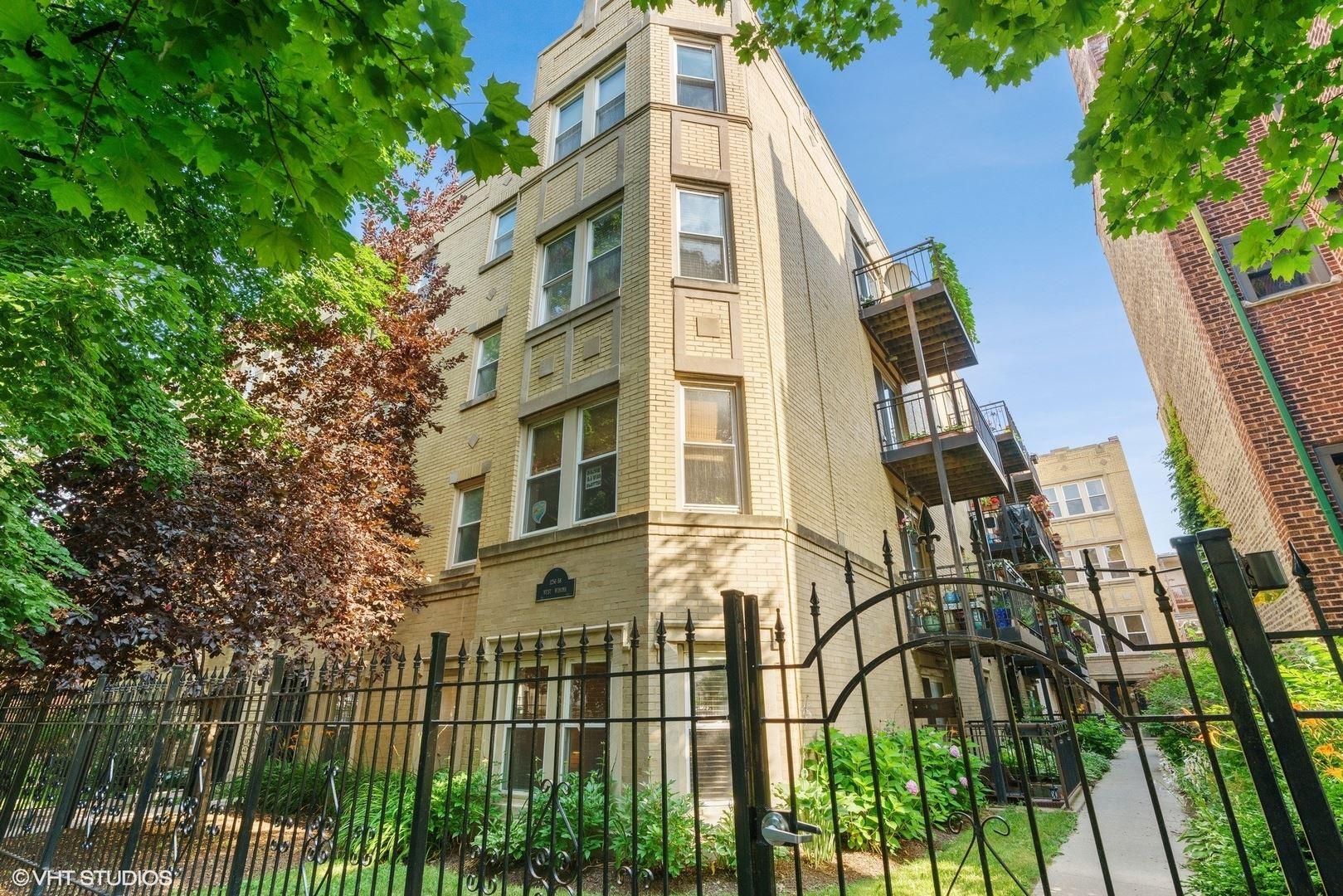 1258 W WINONA Street #3B, Chicago, IL 60640 - #: 10779279