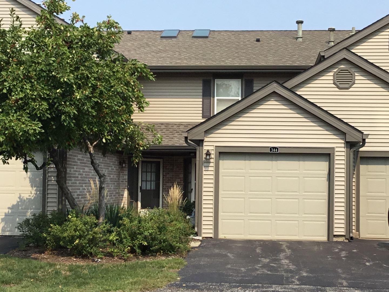 344 Grissom Court, Hoffman Estates, IL 60169 - #: 11218281