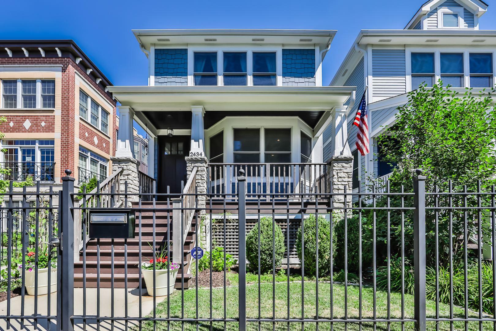 2434 W Fletcher Street, Chicago, IL 60618 - #: 10783283