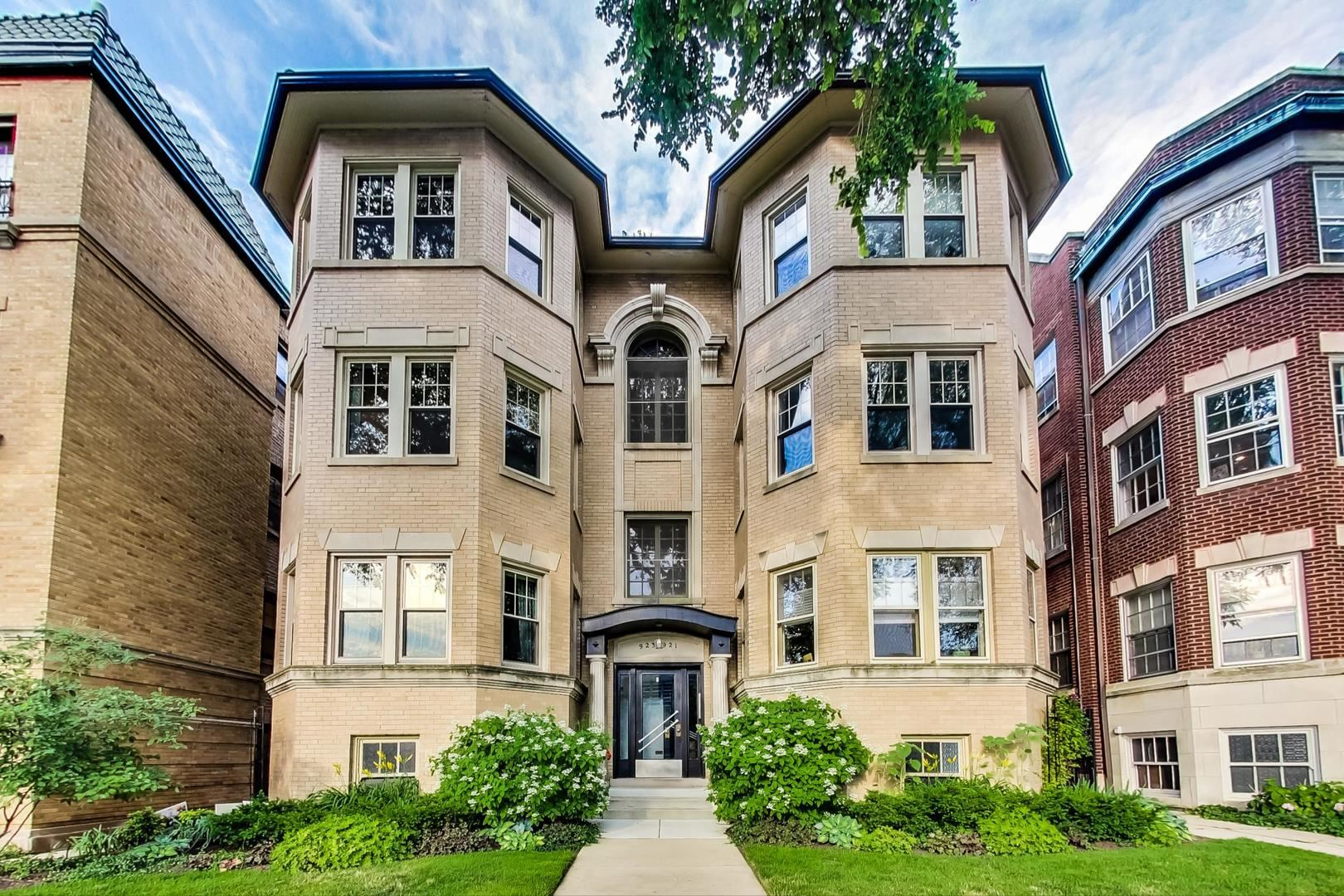923 Forest Avenue #3, Evanston, IL 60202 - #: 10780286