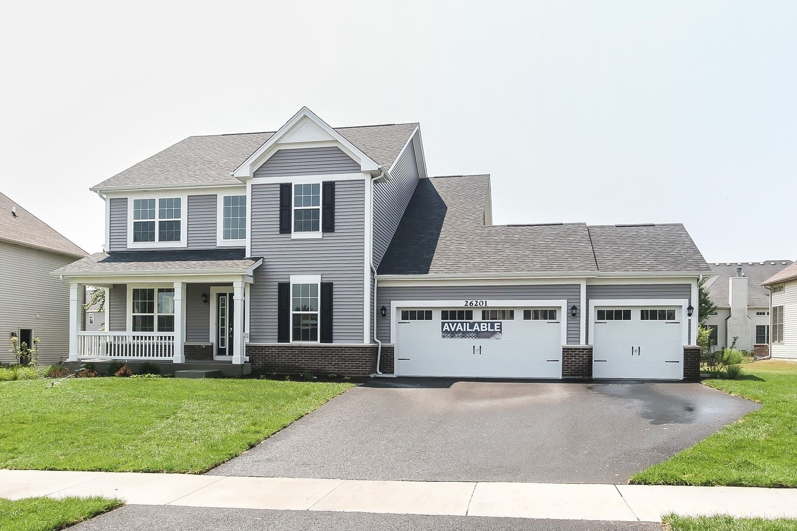 26210 W Chatham Lot#42 Drive, Plainfield, IL 60585 - #: 10705297