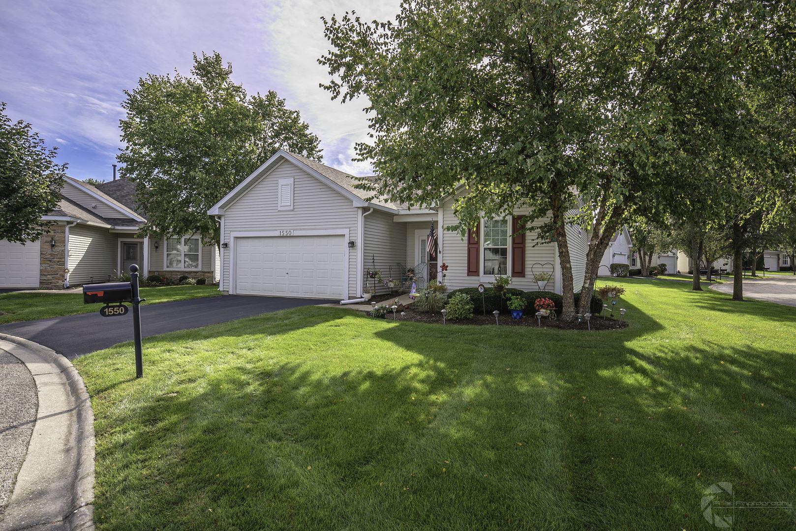 1550 Benzie Court, Romeoville, IL 60446 - #: 10707297