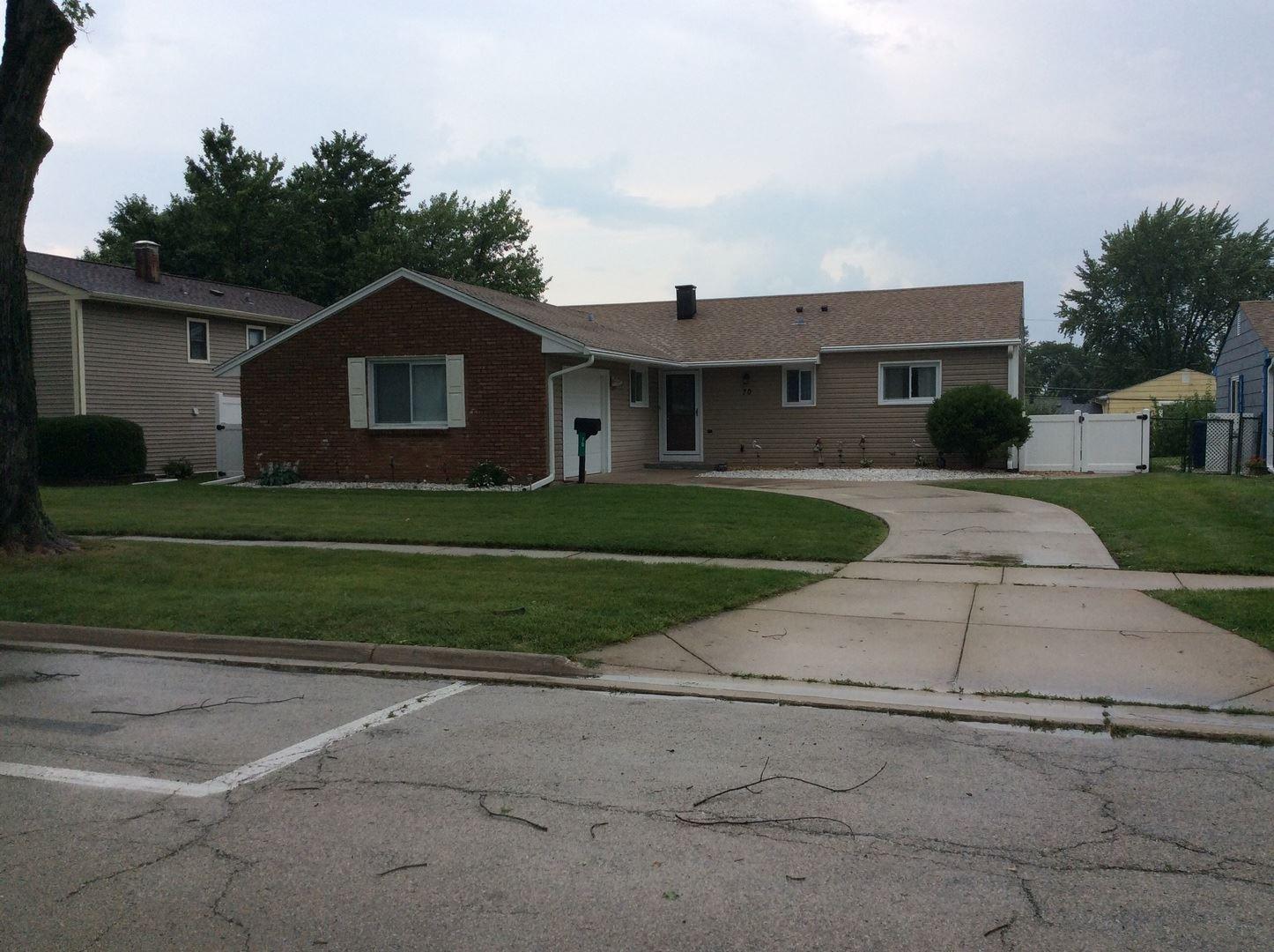 70 Armitage Avenue, Glendale Heights, IL 60139 - #: 11183315