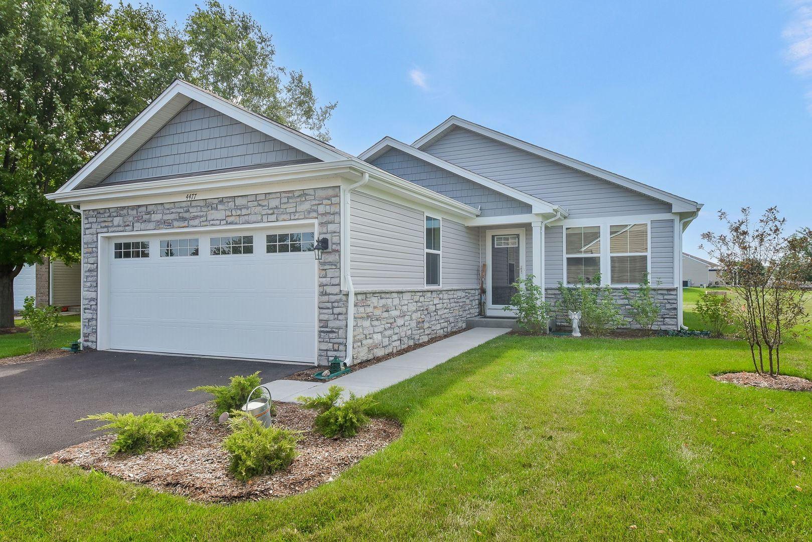 4477 E Millbrook Circle, Yorkville, IL 60560 - #: 11188330