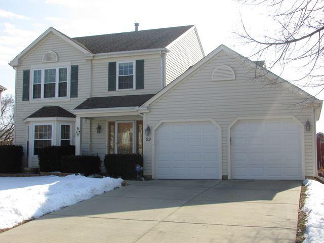 27 Jefferson Lane, Streamwood, IL 60107 - #: 10643345