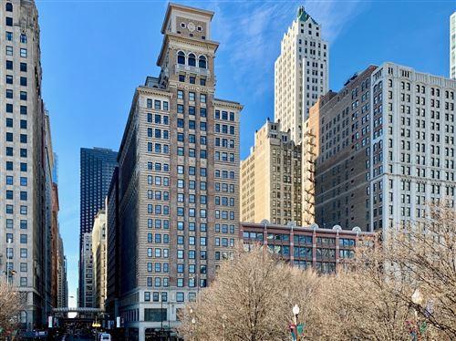 Photo of 6 N Michigan Avenue #1503, Chicago, IL 60602 (MLS # 11124355)