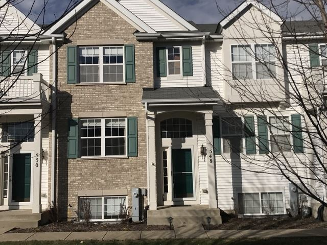 Photo of 548 Lincoln Station Drive #548, Oswego, IL 60543 (MLS # 11161362)