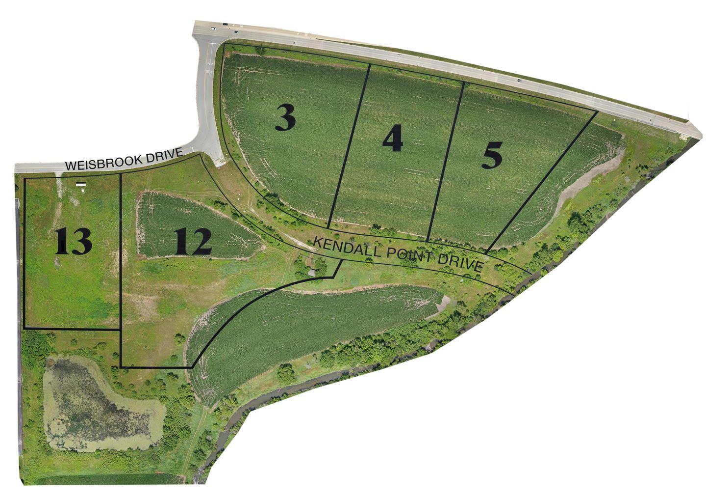 Photo of Lots 3,4,5,12 & 13 Wiesbrook Lots 3/4/5/12 & 13 Drive, Oswego, IL 60543 (MLS # 11070380)