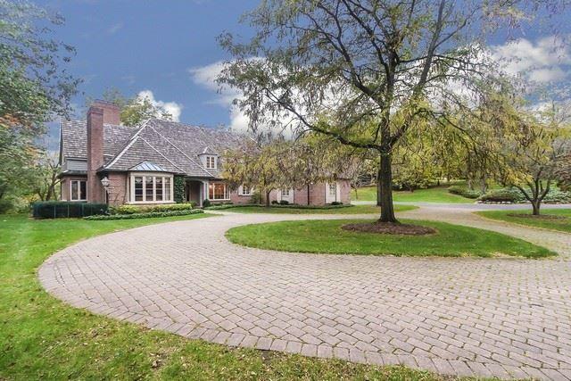 1 Goose Lake Drive, Barrington Hills, IL 60010 - #: 10553383