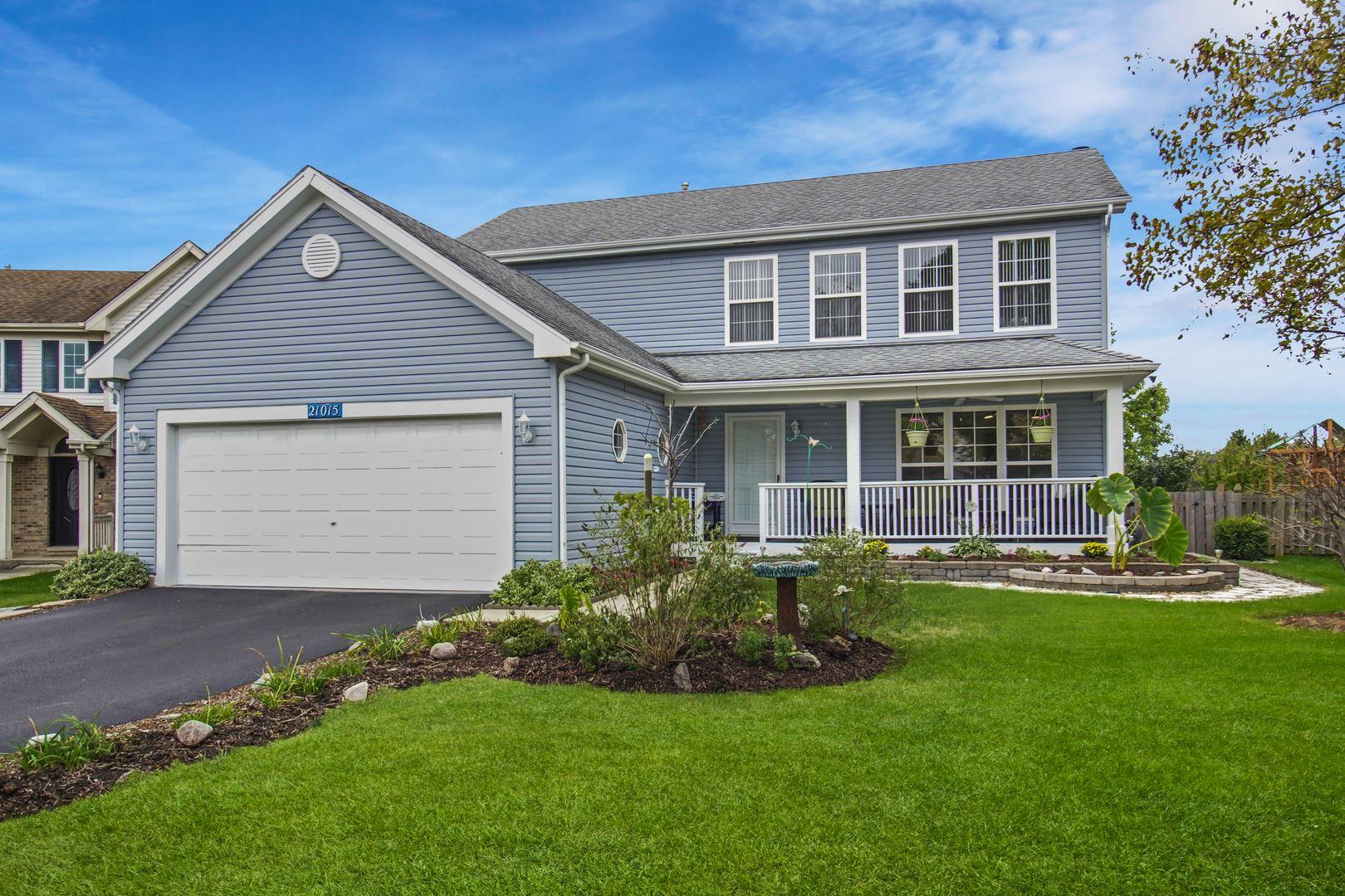 21015 W Bloomfield Drive, Plainfield, IL 60544 - #: 11253386