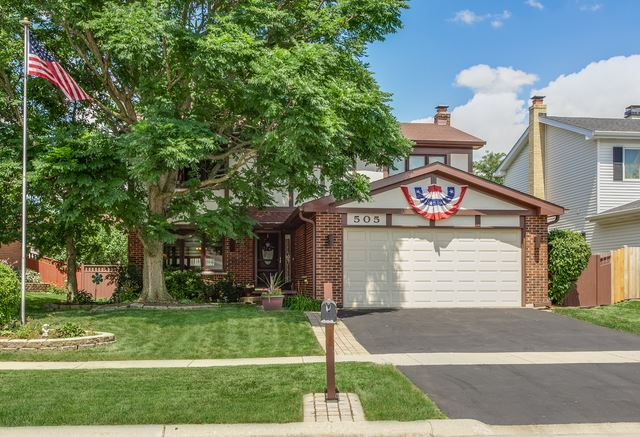 505 Flint Trail, Carol Stream, IL 60188 - #: 10527393