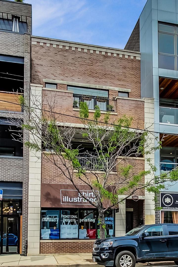 1340 W BELMONT Avenue #2, Chicago, IL 60657 - #: 10725411