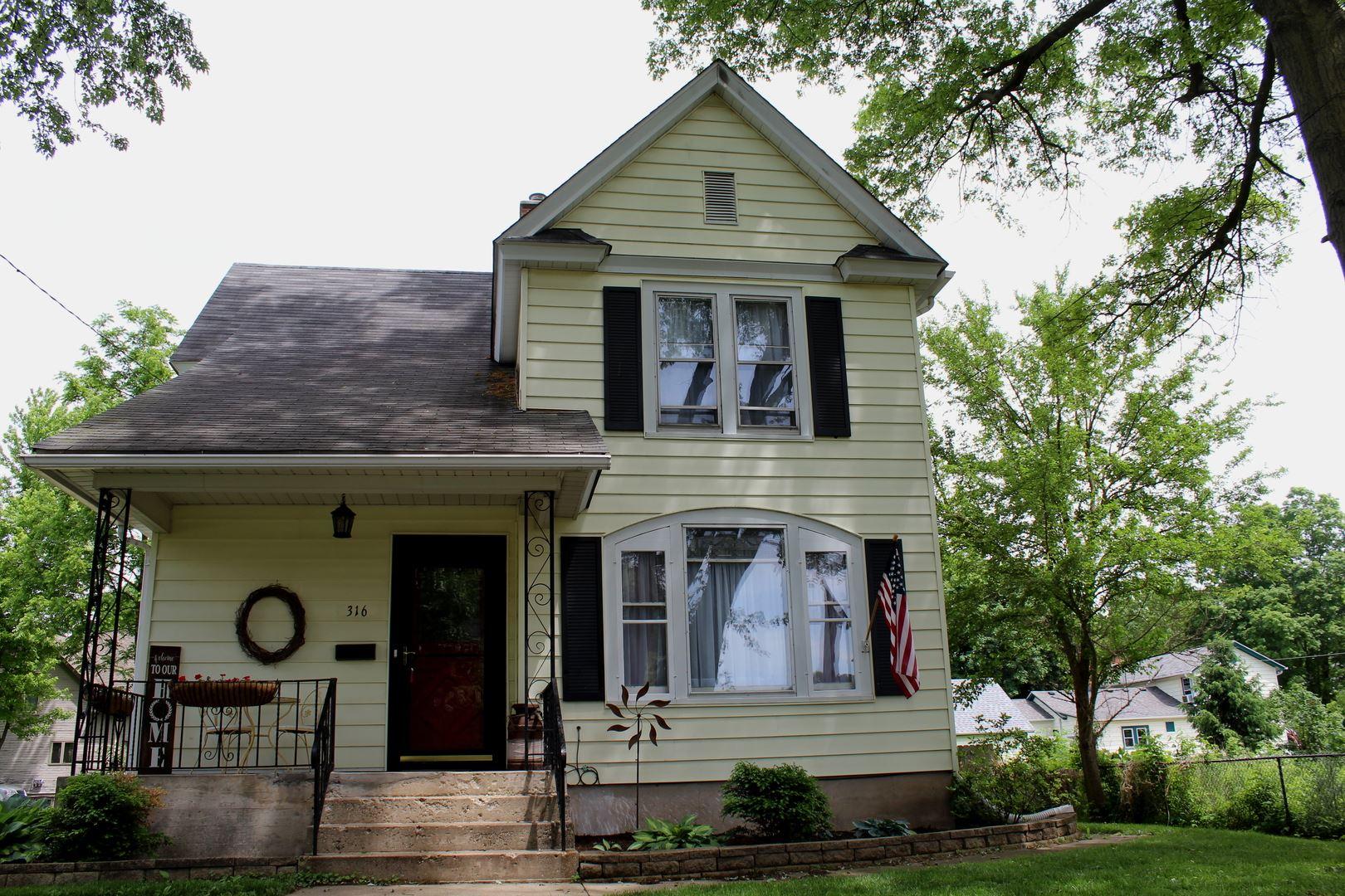 316 N Eddy Street N, Sandwich, IL 60548 - #: 10734411