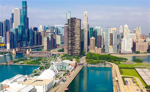 Photo of 505 N LAKE SHORE Drive #5707, Chicago, IL 60611 (MLS # 10765421)