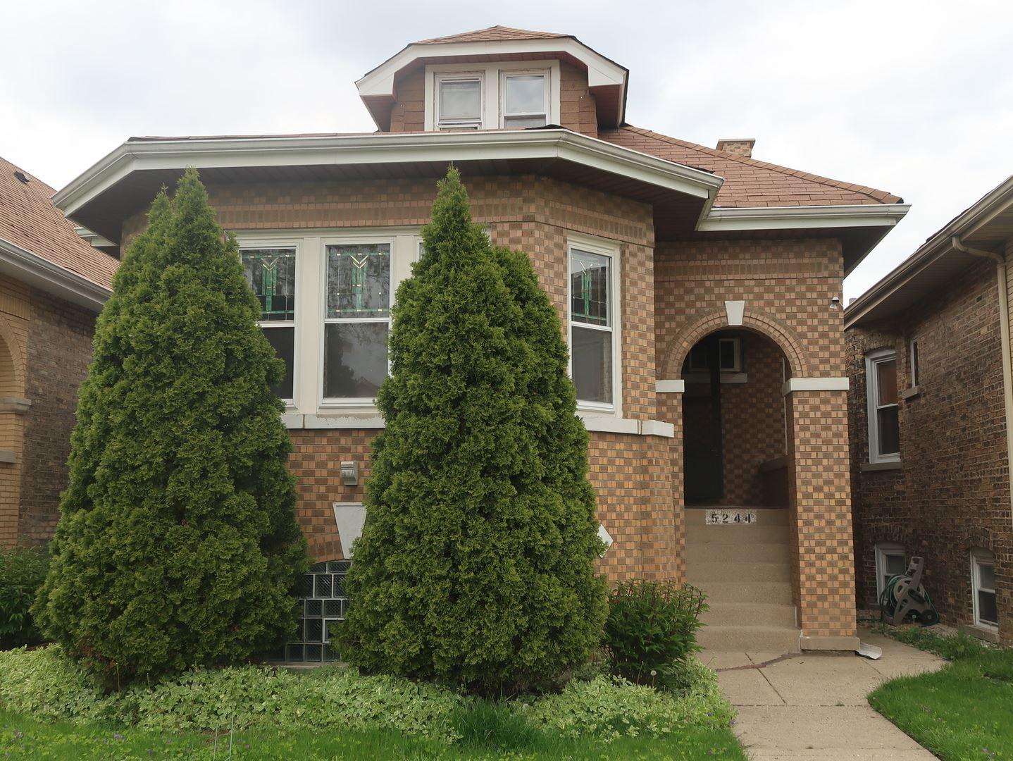 5244 W George Street, Chicago, IL 60641 - #: 10704423