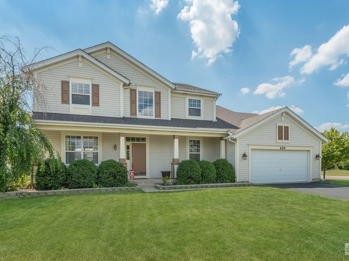 654 Vista Drive, Oswego, IL 60543 - #: 10754431