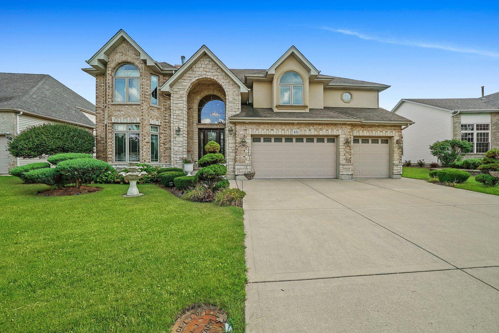 651 Anne Lane, Bolingbrook, IL 60440 - #: 11205443
