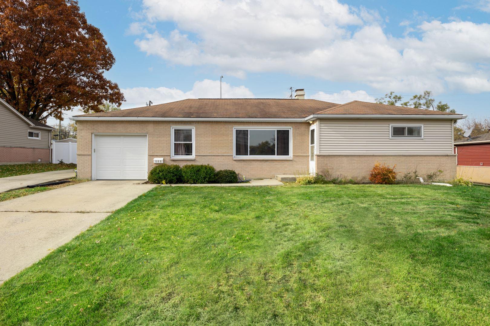 660 Cumberland Street, Hoffman Estates, IL 60169 - #: 11244446