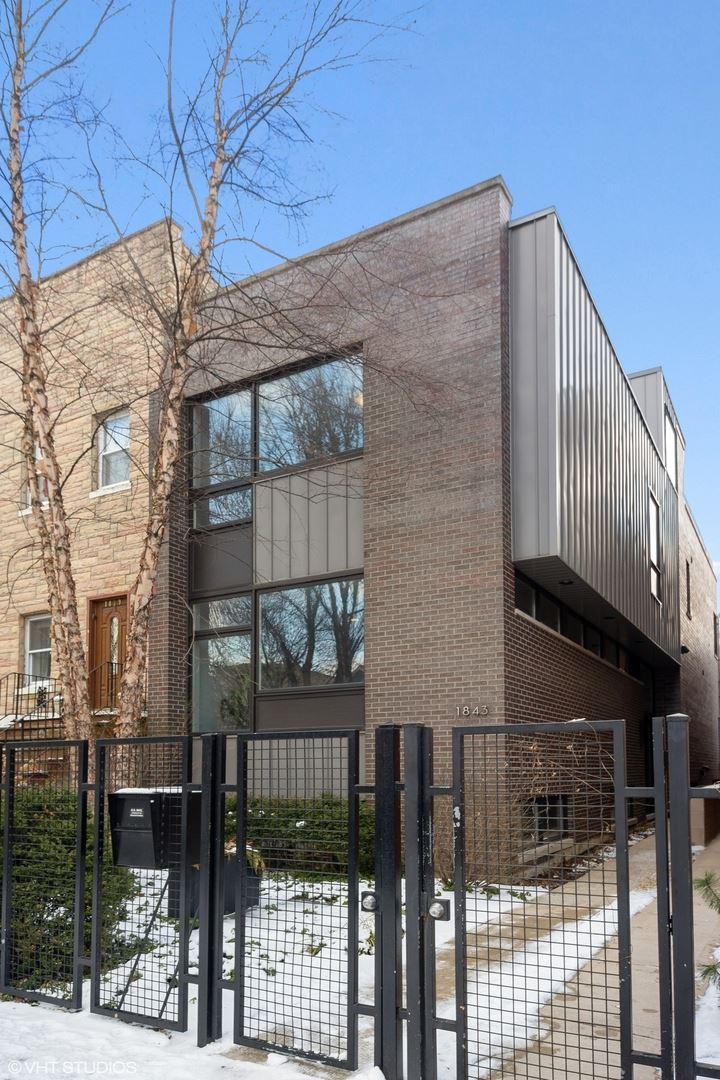 1843 W Huron Street, Chicago, IL 60622 - #: 10652460