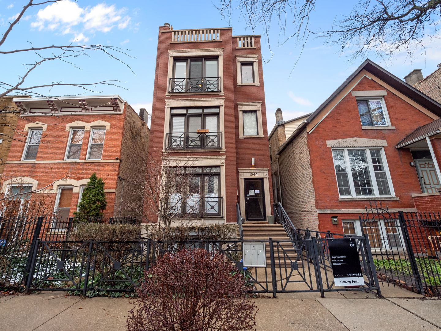 1644 N Claremont Avenue #3, Chicago, IL 60647 - #: 10633471