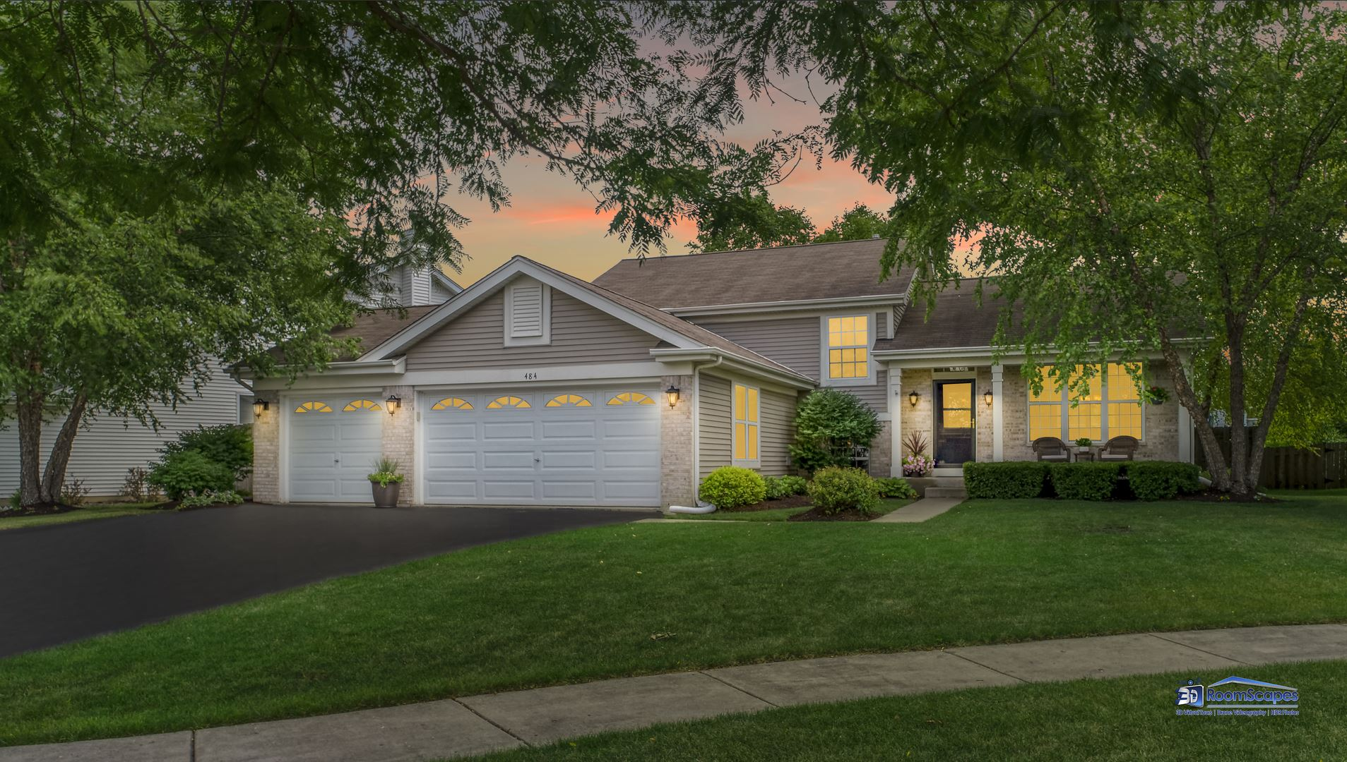 484 Red Rock, Lakemoor, IL 60051 - #: 10810471