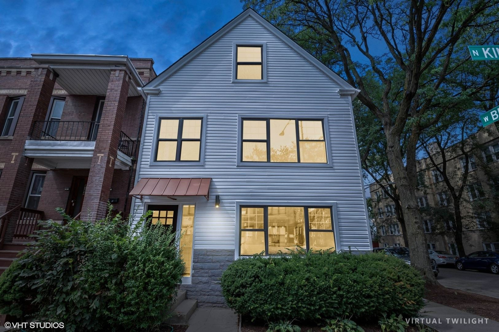 4156 N Kimball Avenue, Chicago, IL 60618 - #: 11248473