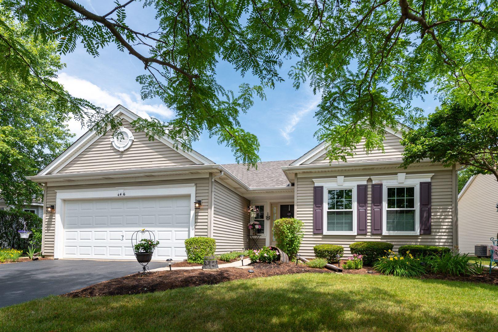 446 Badger Lane, Oswego, IL 60543 - #: 10811488