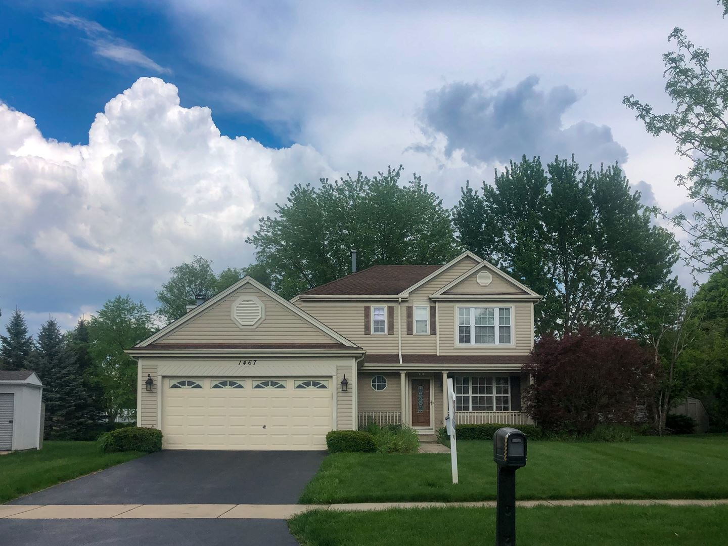 1467 Magnolia Way, Carol Stream, IL 60188 - #: 10764500