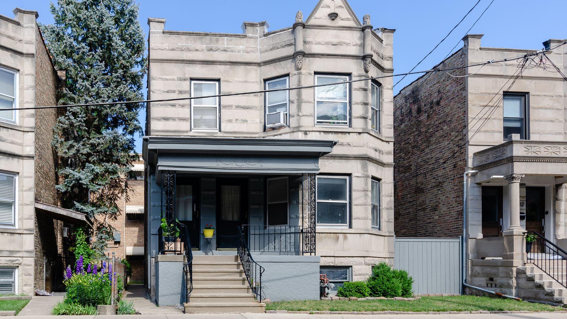 206 N Marion Street, Oak Park, IL 60302 - #: 11124548