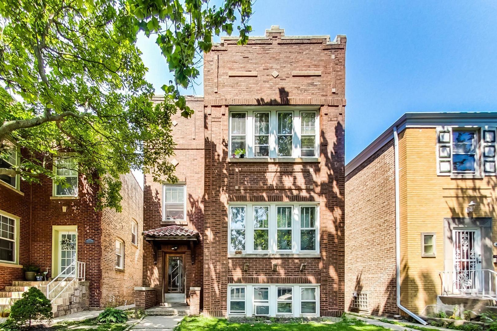 5418 N Sawyer Avenue, Chicago, IL 60625 - #: 11154559