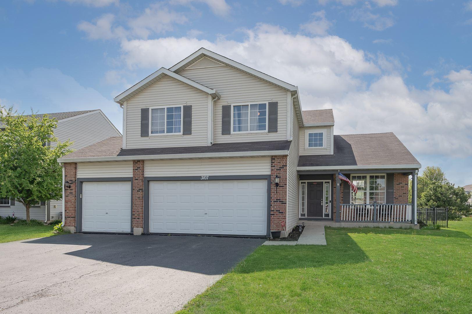 Photo of 3107 Twin Falls Drive, Plainfield, IL 60586 (MLS # 11080568)