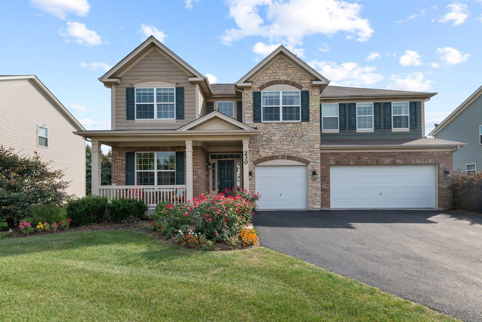 230 Julep Avenue, Oswego, IL 60543 - #: 11235569